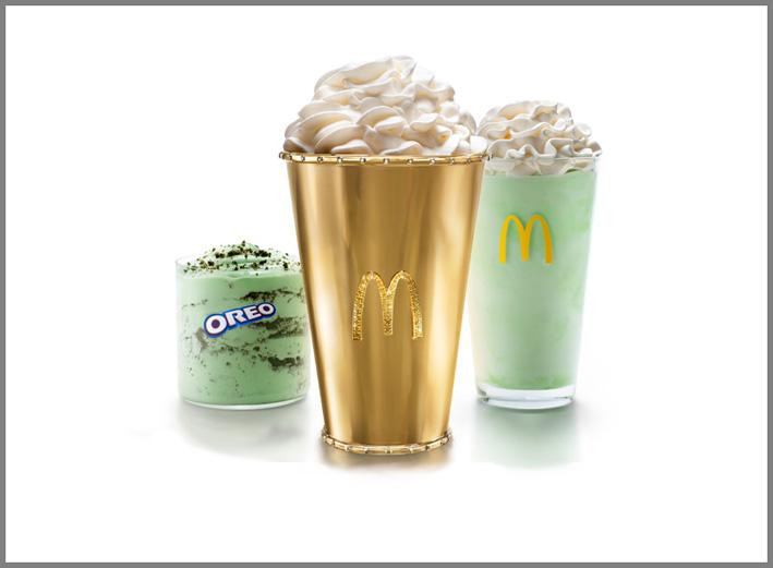 La coppa d'oro di McDonald's
