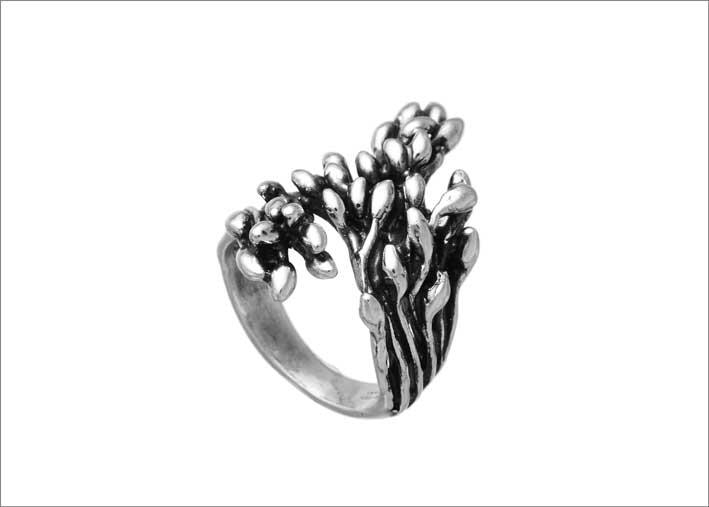 Anello Berries in argento