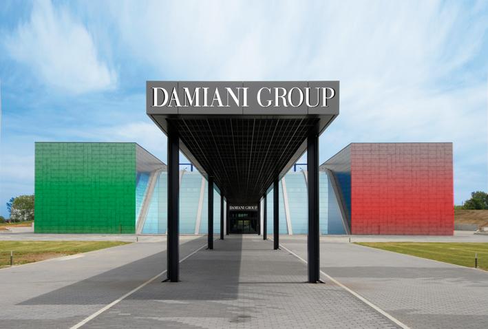L'ex spazio Expo Piemonte, ora di proprietà della famiglia Damiani