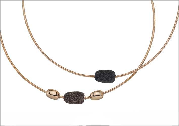 Collane della nuova collezione Stones & Dna Spring