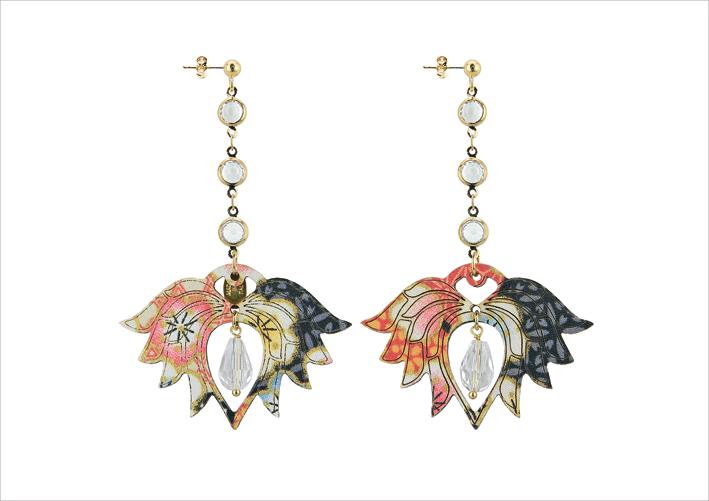 Lebole Gioielli, orecchini della collezione Hasu