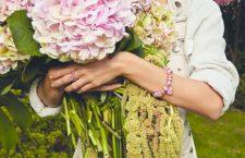 Pandora, bracciale e anello indossati
