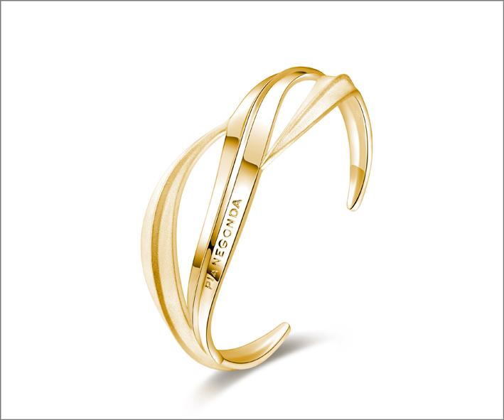 Bracciale in argento placcato oro