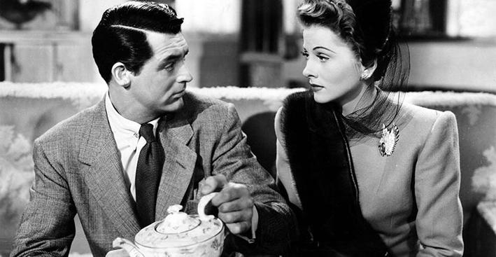 Cary Grant e Joan Fontaine con la spilla di Verdura