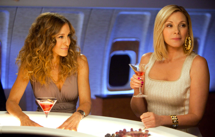Sarah Jessica Parker e Kim Cattrall in Sex and the City II