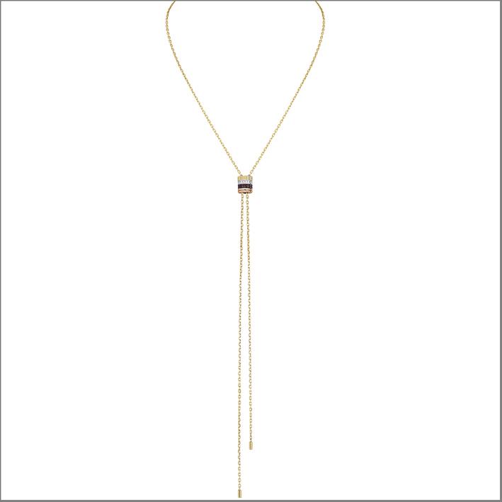 Tie necklace regolabile