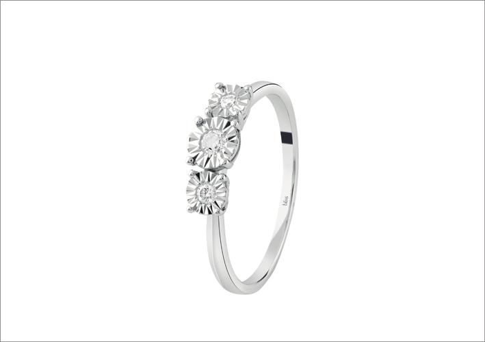 Bliss, anello della collezione Sole