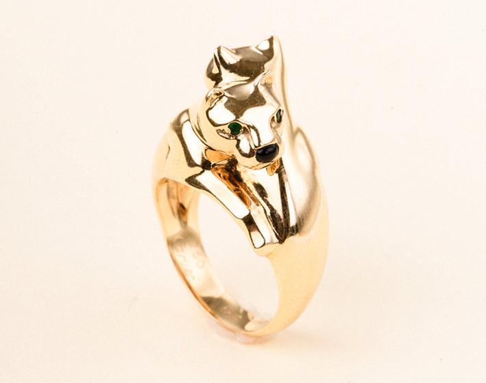 Cartier, anello Panthère