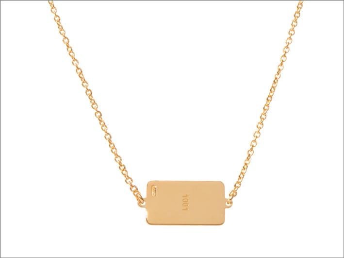 Collana in oro 24 carati