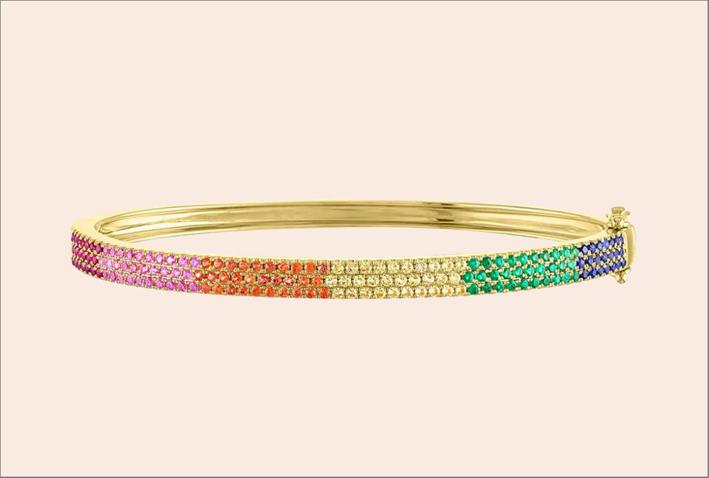 bracciale Rainbow di Stephanie Gottlieb