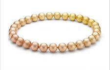 Collana con oro di diverse sfumature, collezione Solaris