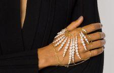 Bracciale in oro e perle di Tasaki