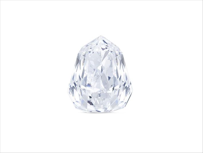 Diamante di 100 carati acquistato da Moussaieff