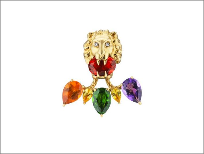 Pendente della collezione Lion Head