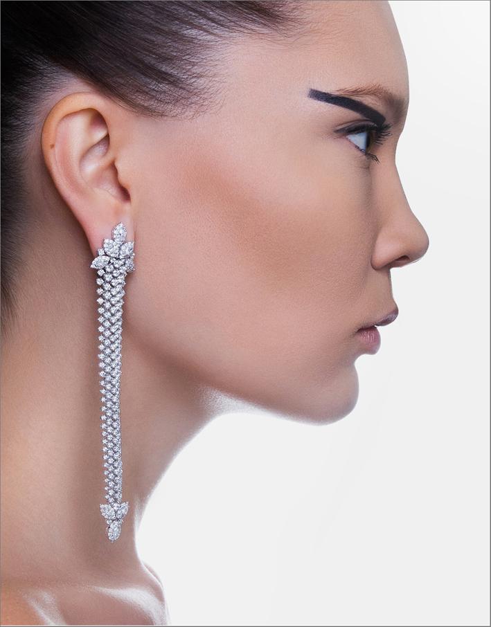 Orecchini di diamanti by Yeprem