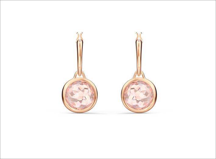 Orecchini Thalia rosa