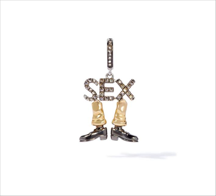Charm sex in oro e diamanti