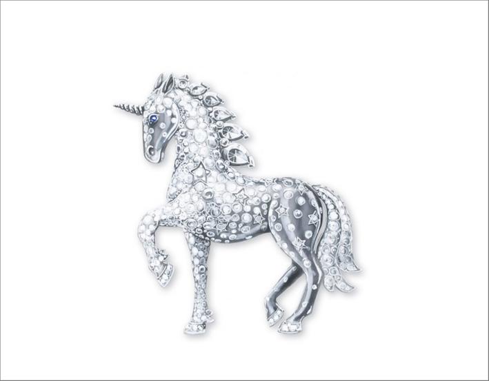 La clip unicorno