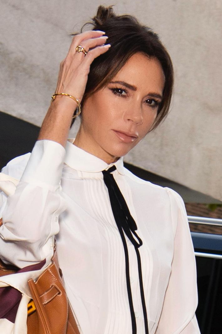 Victoria Beckham con i gioielli Tiffany