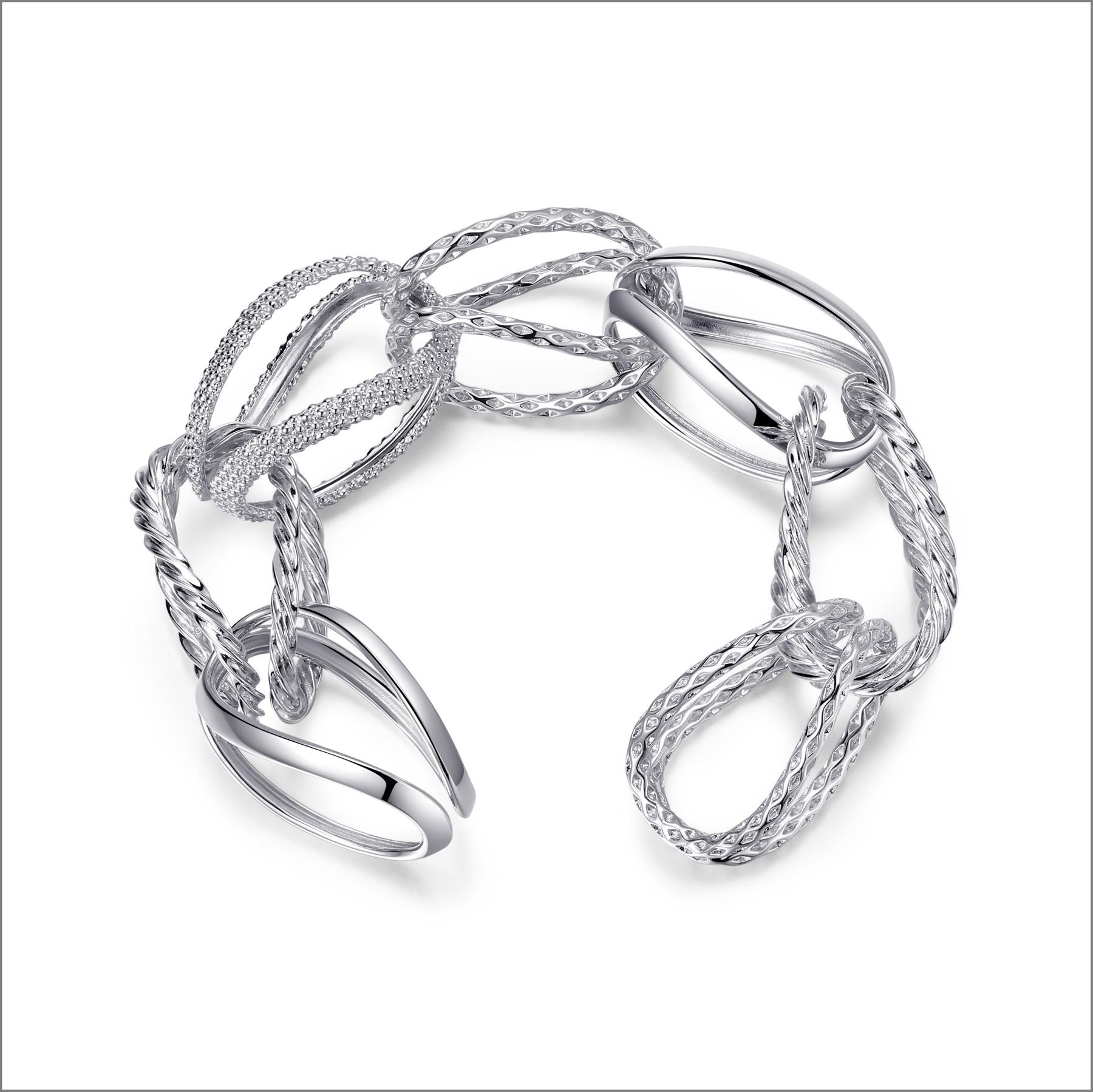 Bracciale in argento della collezione Tecum