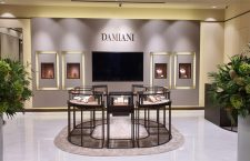 La boutique Damiani a Busan, in Corea