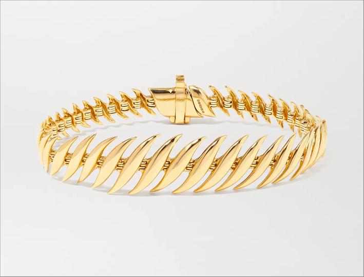 Bracciale Flame in oro 18 carati