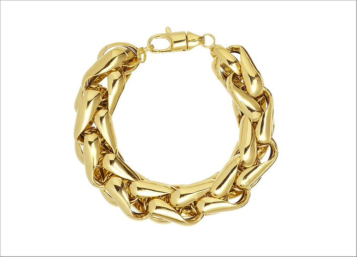 Bracciale Lucky Links in oro giallo 14 carati