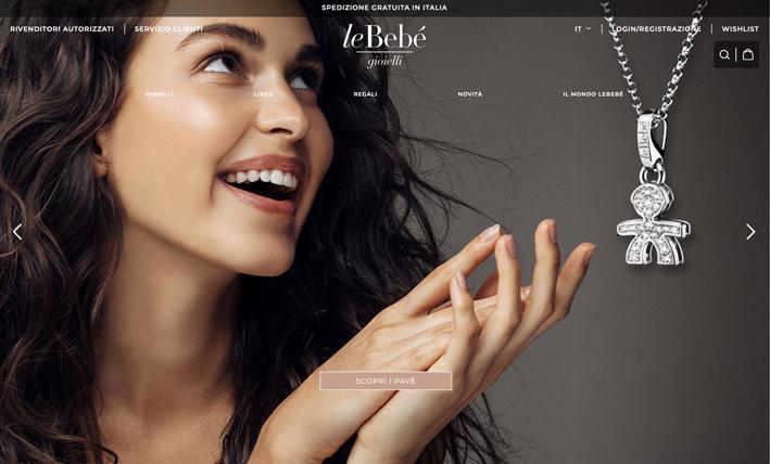 Nuovo sito web di leBebé
