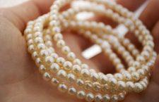 Le perle sono tra i materiali più delicati