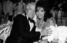 Joan Collins assieme a Nicky Haslam