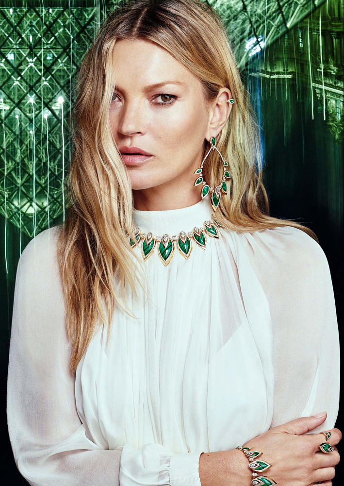 Kate Moss indossa la linea Colour Play