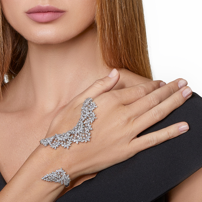 Yeprem, bracciale di diamanti