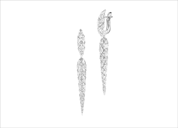 Orecchini con diamanti di Boghossain