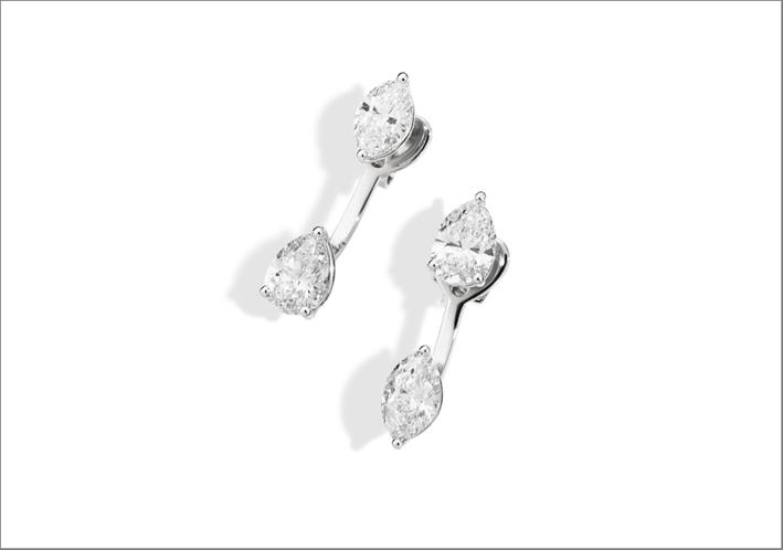 Recarlo, orecchini con diamanti