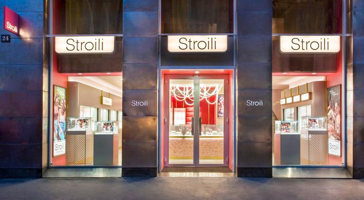 Esterno della boutique