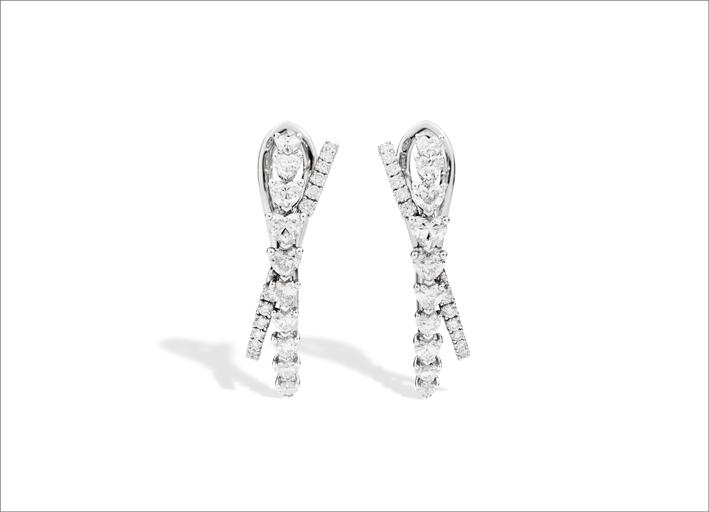 Orecchini con diamanti