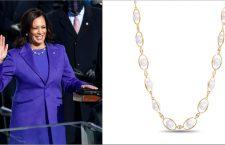 Kamala Harris e la collana di W.Rosado