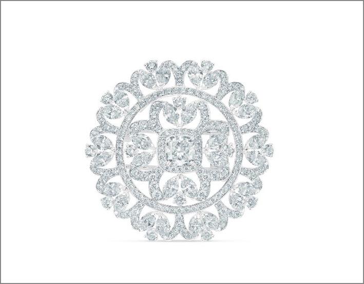 Medaglione Ellesmere, composto da 478 diamanti