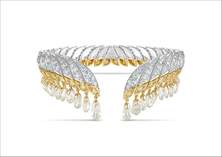 Bracciale Namib Wonder con diamanti con un peso totale di 21,32 carati