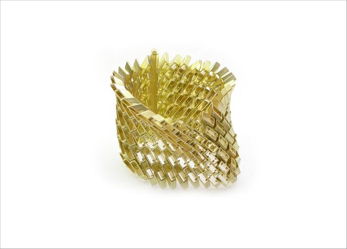 Bracciale in oro giallo 18 carati
