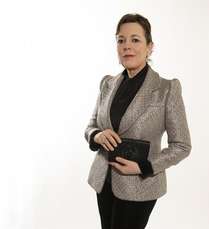 Olivia Colman in Messika