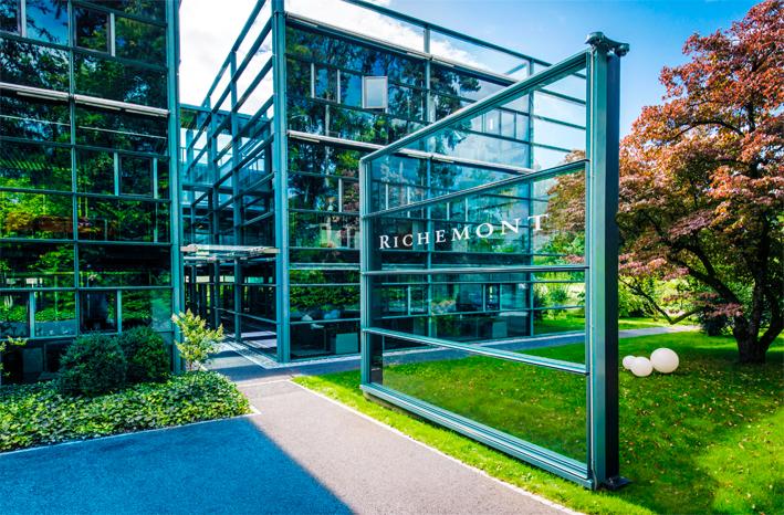 La sede di Richemont a Bellevue (Ginevra, Svizzera)