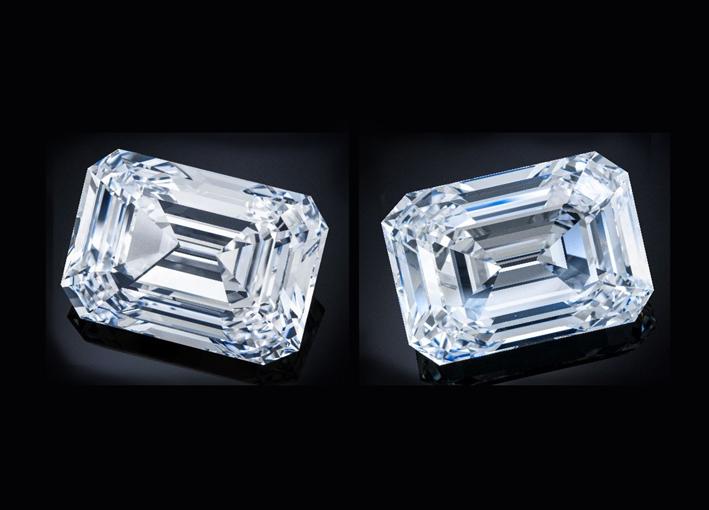 Il diamante The Spectacle è stato tagliato da una rara pietra grezza da 207,29 carati