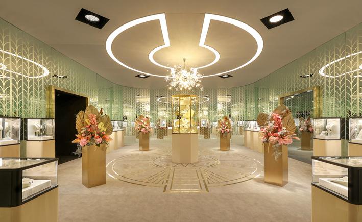La mostra Tiffany a Shanghai