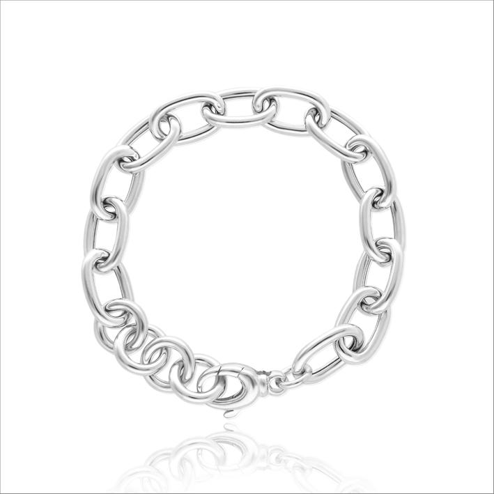 Bracciale a catena in argento