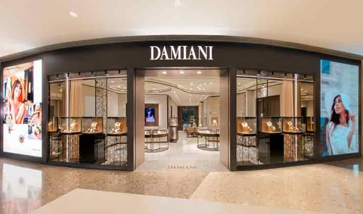 Il punto vendita Damiani a Shanghai