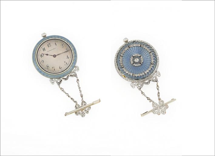 Orologio spilla di Tiffany