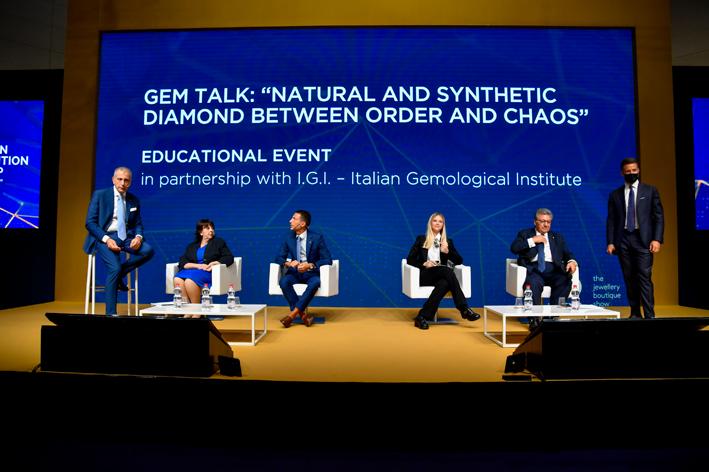 Il Talk sui diamanti sintetici a Vicenzaoro