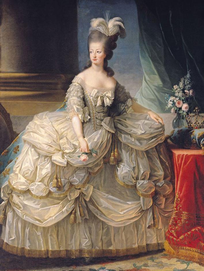 Ritratto di Maria Antonietta con bracciale
