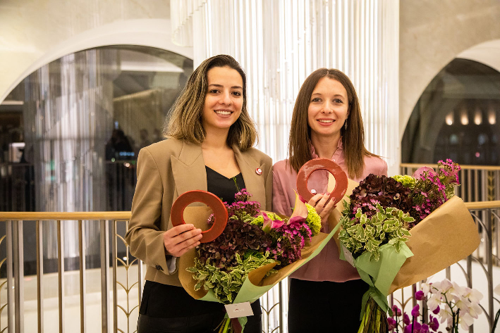 Tracy Bassil e Elena Redaelli , vincitrici Nellie Award 2021